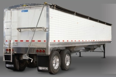 Ag Trailer side/rear view