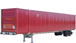 Intermodal Container Transport Unit