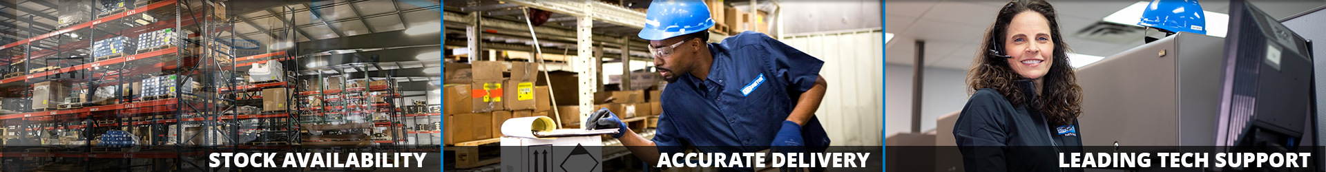 Stock Availability - Accurate Delivery - Leading Tech Support