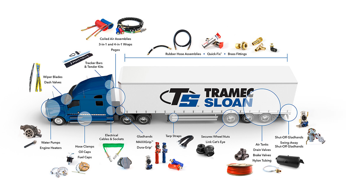 Some Parts That Make A Tramec Sloan